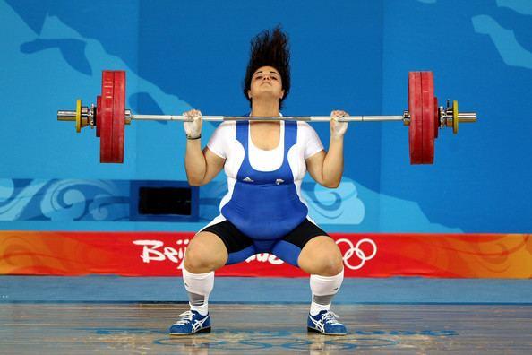 Victoria Mavridou Victoria Mavridou Photos Photos Olympics Day 8 Weightlifting