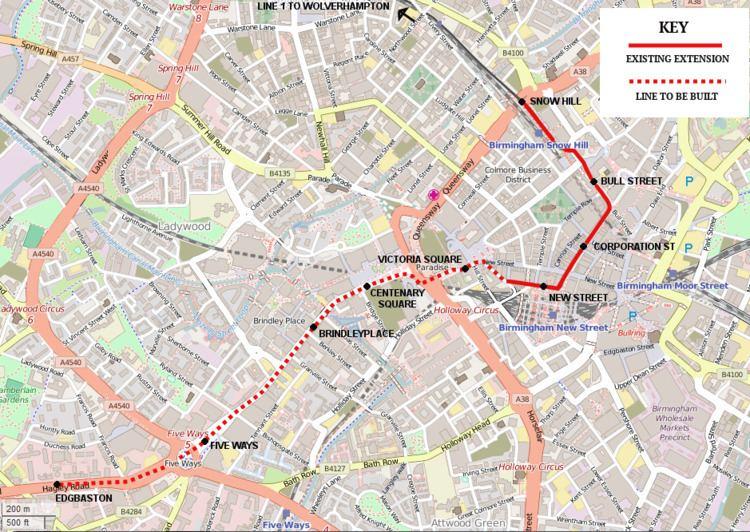 Victoria Square tram stop