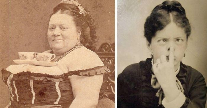 Victorian era 15 Rare Photos Of Victorians Proving They Weren39t As Serious As You
