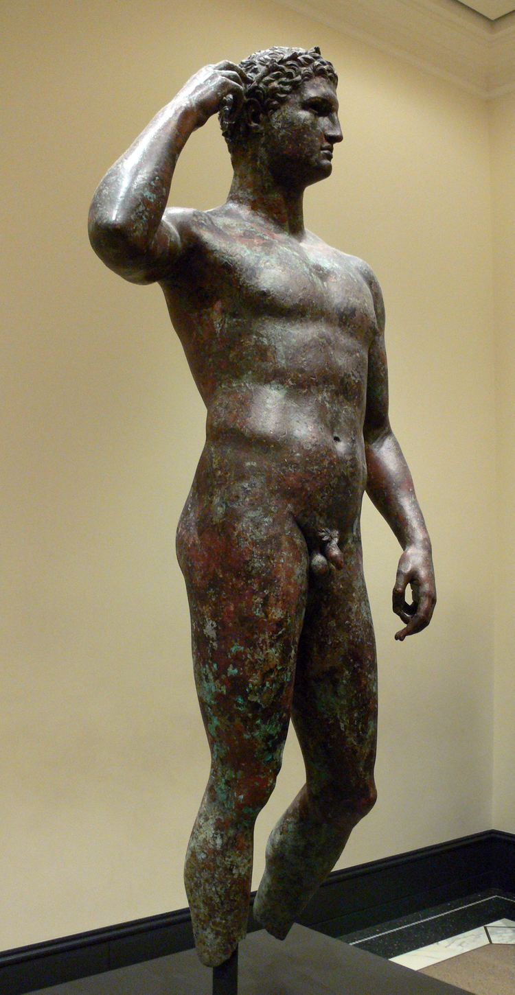Victorious Youth FileGetty Villa Victorious Youth 06JPG Wikimedia Commons