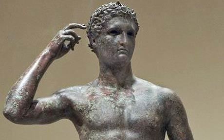 Victorious Youth Bronze Statue of a Victorious Youth Illicit Cultural Property