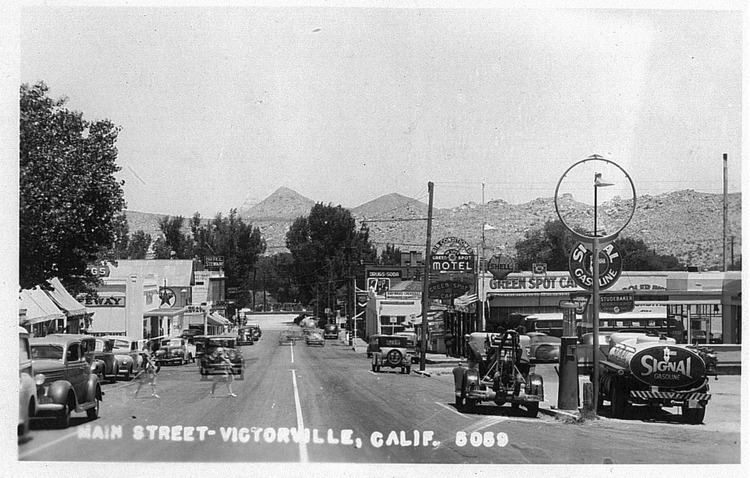 Victorville, California in the past, History of Victorville, California