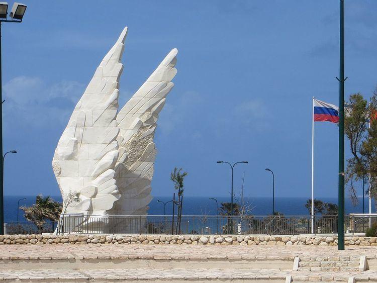 Victory Monument in Netanya