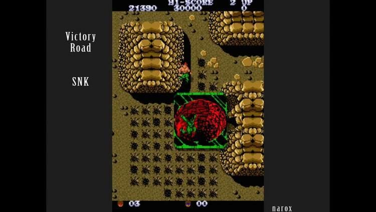 Victory Road (video game) Victory Road arcade attract mode auto demo SNK 1986 YouTube