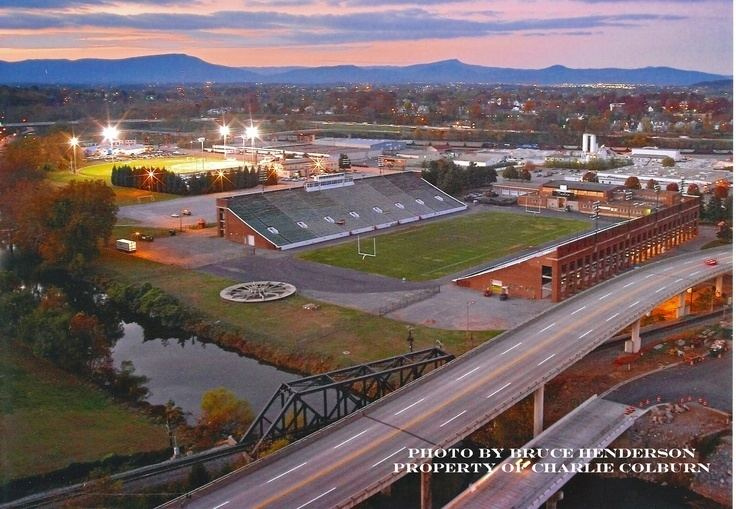 Victory Stadium A wonderful photo of Victory Stadium with Marr Field in the