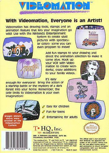 Videomation Videomation Box Shot for NES GameFAQs