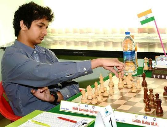 Vidit Santosh Gujrathi GM Vidit Santosh Gujrathi clear first in Lake Sevan