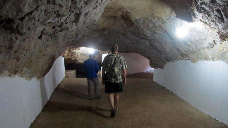 Viengxay caves The caves of Vieng Xai