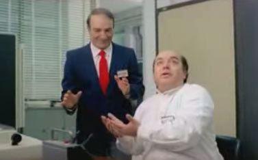 Vieni avanti cretino Vieni avanti cretino la scena di Lino Banfi e il Dottor Tomas I
