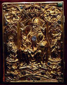 Vienna Coronation Gospels httpsuploadwikimediaorgwikipediacommonsthu