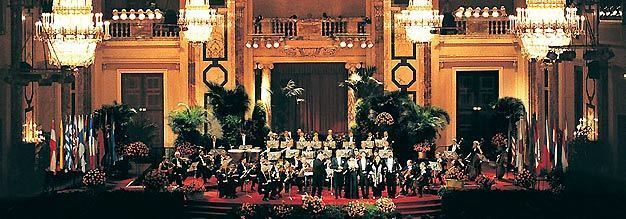 Vienna Hofburg Orchestra Vienna Hofburg Orchestra performing in the Imperial Palace Hofburg