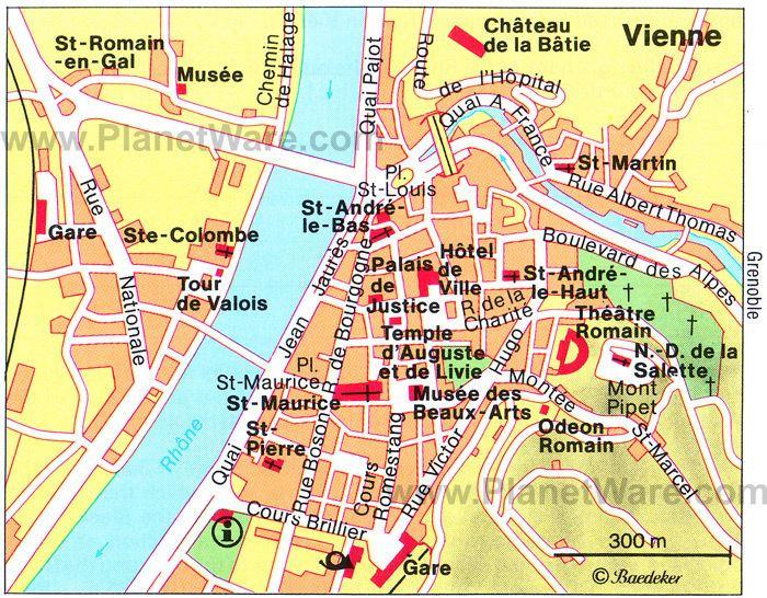 Vienne Tourist places in Vienne