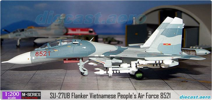 Vietnam People's Air Force Model Aircraft SU27UB Flanker Vietnamese People39s Air Force 8521