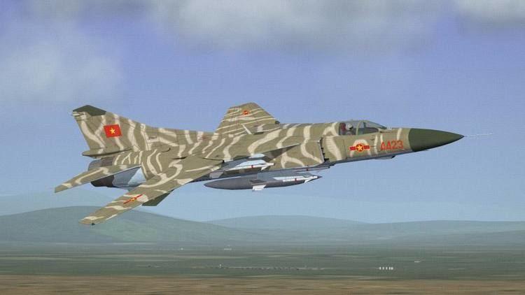 Vietnam People's Air Force Mikoyan MiG23MF Vietnam Peoples39 Air Force Thirdwire Strike
