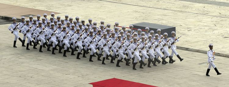 Vietnam People's Navy FileVietnam People39s Navy honor guard at ASEAN defense ministers