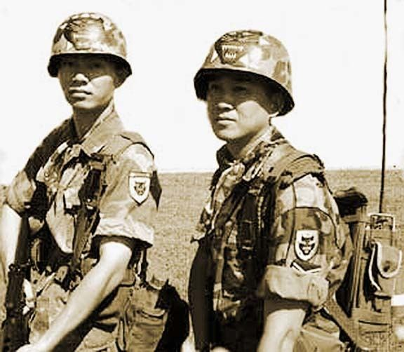 Vietnamese Rangers ARVN RANGERS Biet Dong Quan