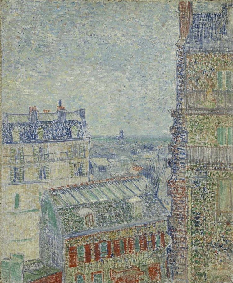 View of Paris from Vincent's Room in the Rue Lepic lh5ggphtcomHuBSWBBC223Fs6RkjN7UVnwPf7LqkHgtHTzl