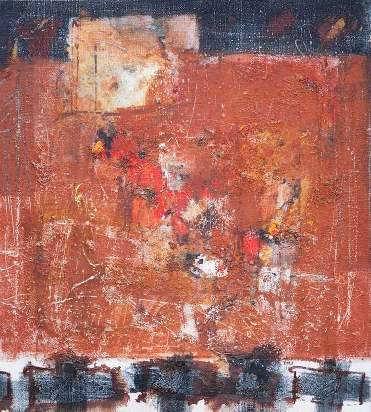 Vigintas Stankus Saatchi Art Red abstract Painting by Vigintas Stankus