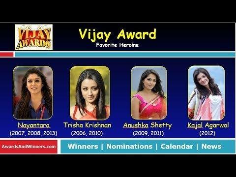 Vijay Award for Favourite Heroine httpsiytimgcomvip7bWGUIvHbkhqdefaultjpg