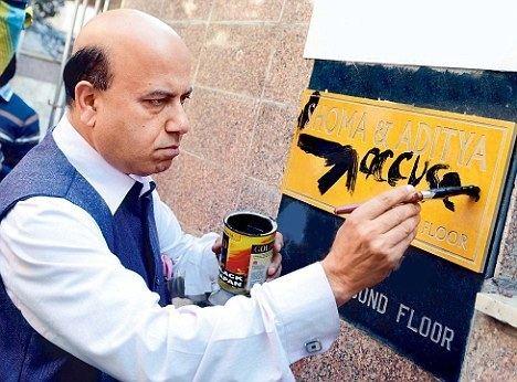 Vijay Jolly Vijay Jolly says color of paint may have been wrong not