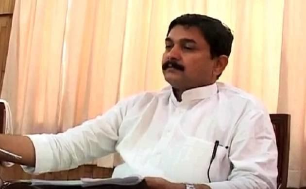 Vijay Kumar Mishra UP minister Vijay Kumar Mishra joins BSP terms SP as antiBrahmin