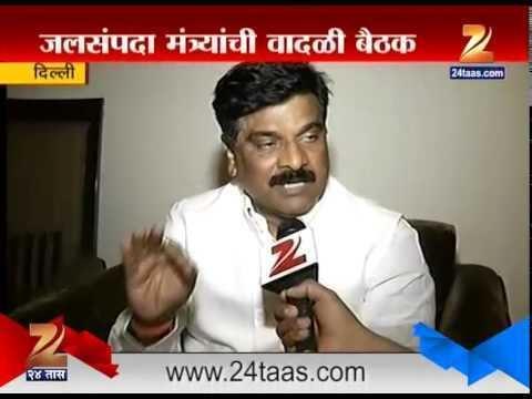 Vijay Shivtare New Delhi Vijay Shivtare On Slamming Gujrat Goverment For Water