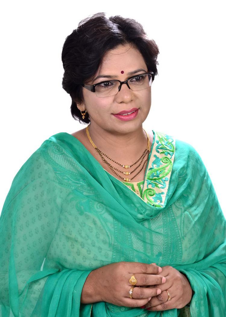 Vijaya Rahatkar FileMrs Vijaya Rahatkar President BJP Mahila Morchajpg