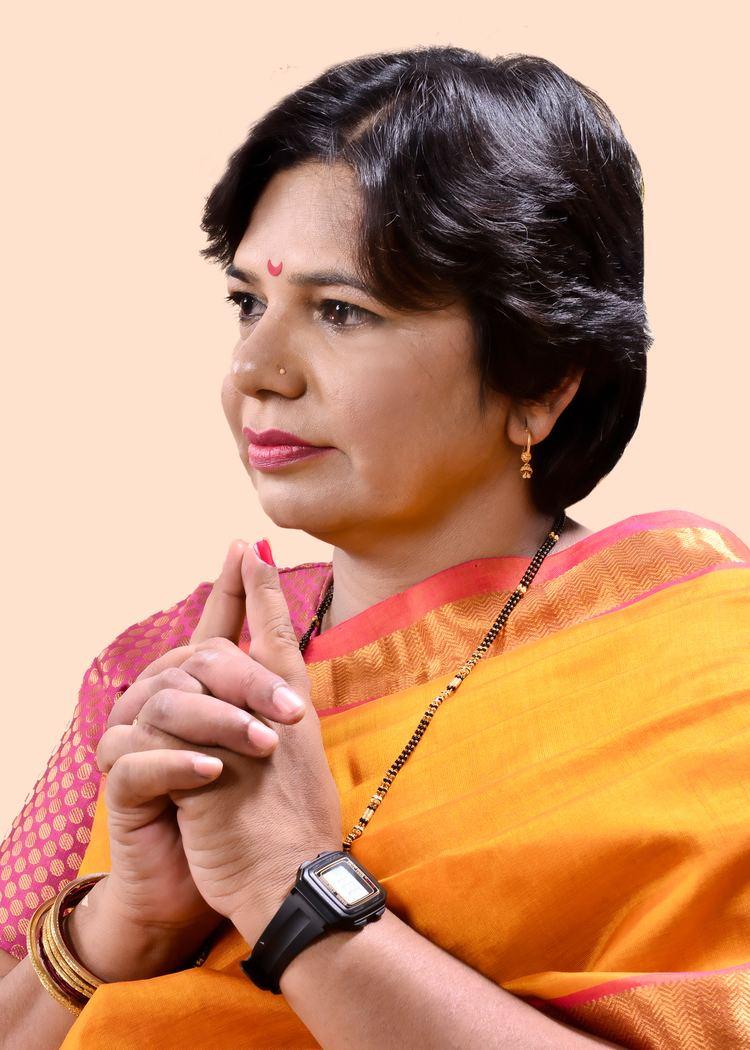 Vijaya Rahatkar FileMrs Vijaya Rahatkar President BJP Mahila Morcha2jpg