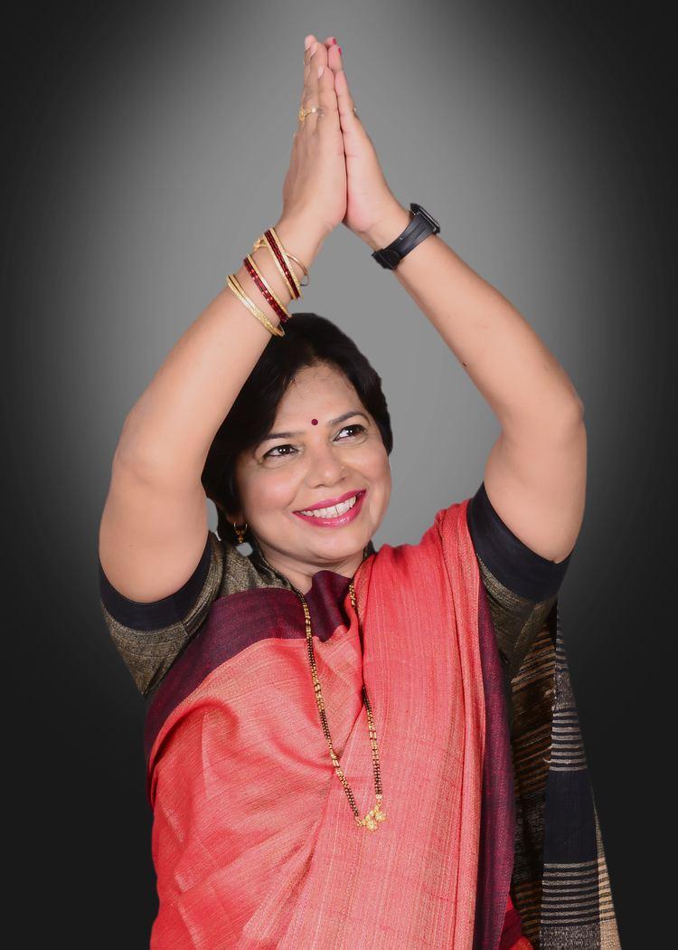 Vijaya Rahatkar FileMrs Vijaya Rahatkar President BJP Mahila Morcha3jpg