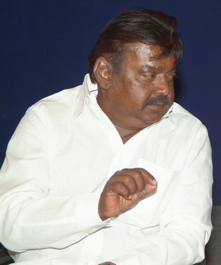 Vijayakanth FileVijayakanth at a function croppedjpg Wikimedia Commons