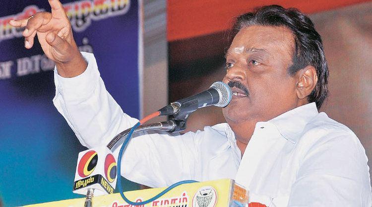 Vijayakanth Vijayakanth still keeps Tamil Nadu guessing about polls and his