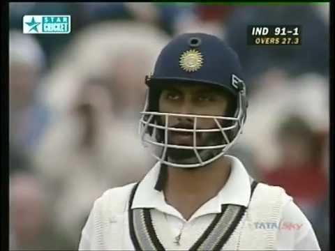 Vikram Rathore 54 vs England TEXACO TROPHY 1996 MANCHESTERRARE