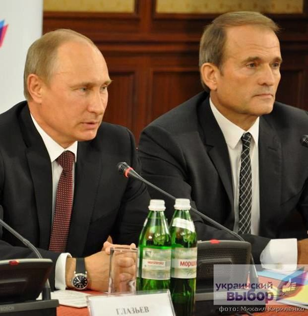 Viktor Medvedchuk Viktor Medvedchuk Crimea is Russia and Ukraine is a colony of the