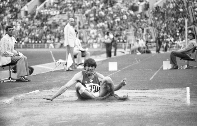 Viktor Saneyev The IAAF World Championships Daegu 2011 Legend of triple
