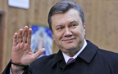 Viktor Yanukovych Viktor Yanukovych leading in Ukraine election Telegraph