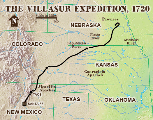 Villasur expedition NebraskaStudiesOrg