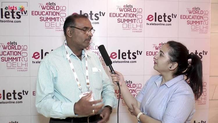 Vinay Kumar Pathak Elets 7th World Education Summit 16 Interview Prof Vinay Kumar