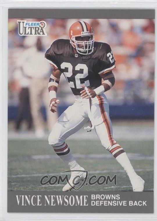 Vince Newsome 1991 Fleer Ultra Update Base U19 Vince Newsome COMC Card