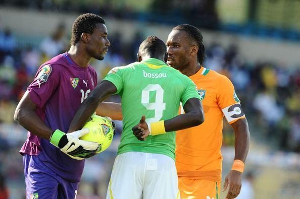 Vincent Bossou Didier Drogba and Vincent Bossou Photos Ivory Coast v