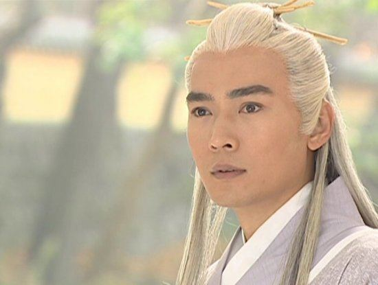 Vincent Chiao Stars with white hair 14 People39s Daily Online