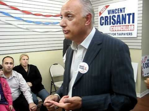 Vincent Crisanti Vincent Crisanti campaign office opening speech YouTube