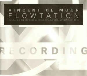 Vincent de Moor Vincent De Moor Flowtation CD at Discogs