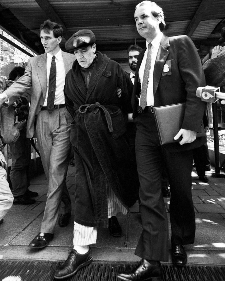 Vincent Gigante Vincent The Chin Gigante John Gotti feud detailed in new book