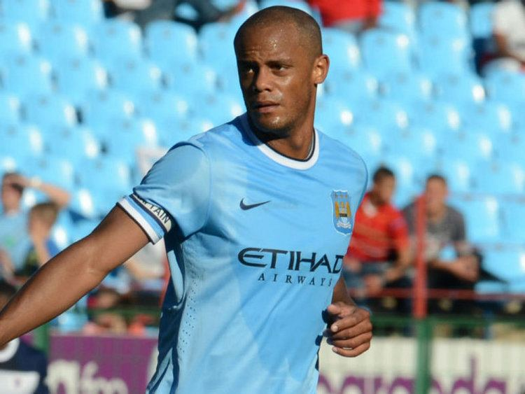 Vincent Kompany Vincent Kompany Manchester City Player Profile Sky Sports Football
