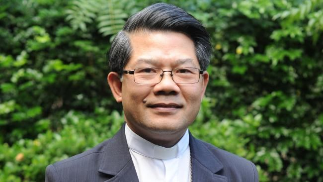 Vincent Long Van Nguyen Catholic bishop calls on church to accept homosexuality