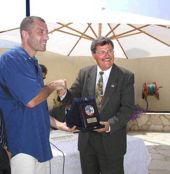 Vincent M. Battle Vincent M Battle Ambassador to Lebanon