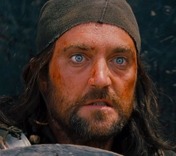 Vincent Regan Vincent Regan in Troy as Endorus awesome blue eyes