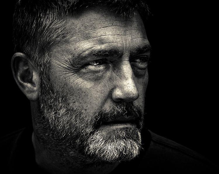 Vincent Regan Portrait photograph of the actor Vincent Regan from 300 by
