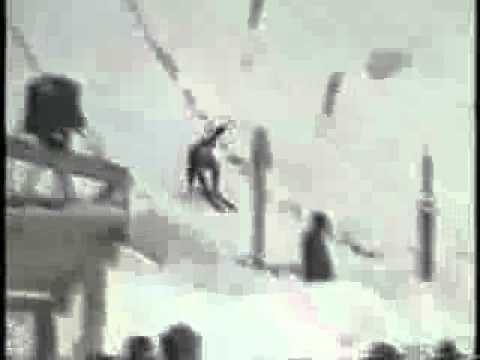 Vinko Bogataj Vinko Bogataj upadek Oberstdorf 1970 YouTube