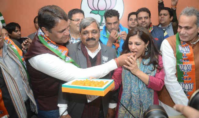 Vinod Kumar Binny Expelled AAP leader Vinod Kumar Binny joins BJP Indiacom